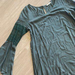Flowy long sleeve top